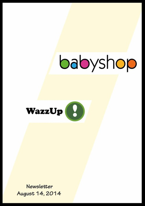 WazzUp August 2014