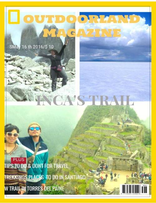 The outdoor magazine