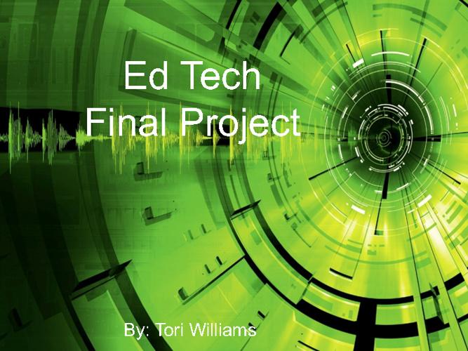 Ed Tech Final