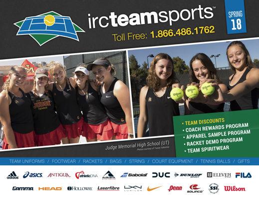 Spring 2018 Team Tennis Catalog