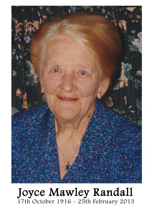 Joyce Randall
