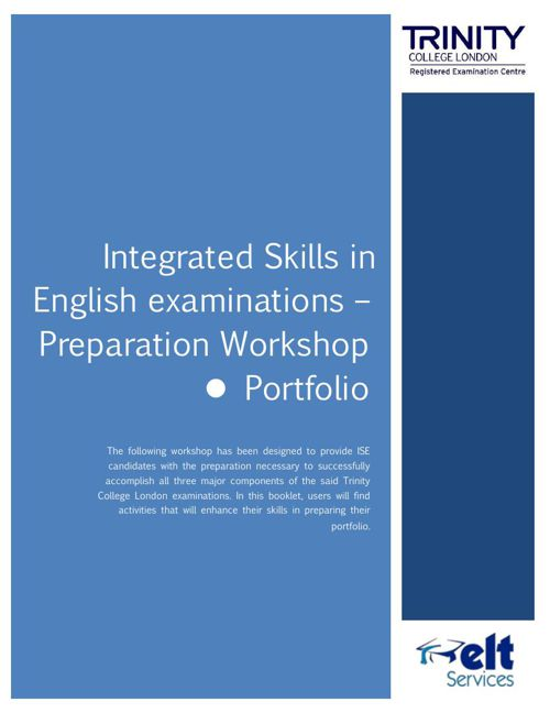 ISE preparation workshop - The Portfolio component