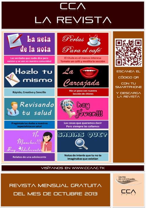 Revista CCA Edicion Octubre 2013