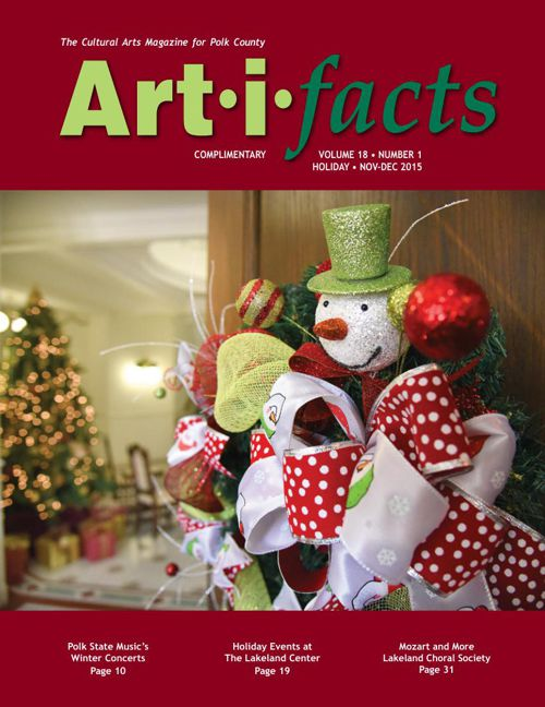 Art-i-facts Nov-Dec 2015 Holiday