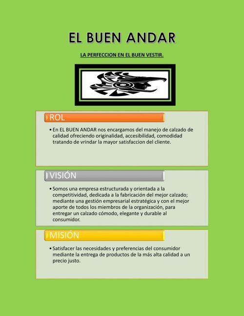 EL BUEN ANDAR