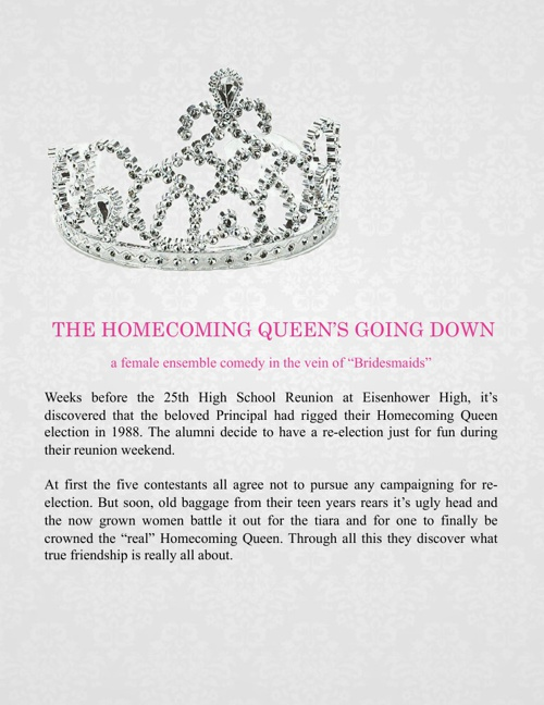 The Homecoming Queen's Going Down