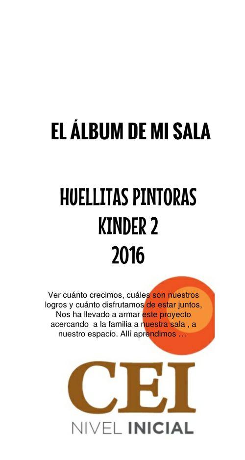 EL ÁLBUM DE MI SALA - HUELLITAS PINTORAS