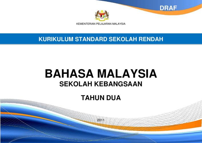 Dokumen Standard BM tahun 2