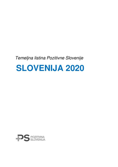 Temeljna listina - Slovenija 2020
