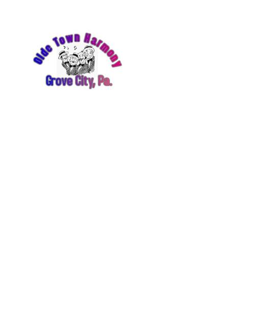 Olde Town Harmony Barbershop Chorus, Grove City, Pa