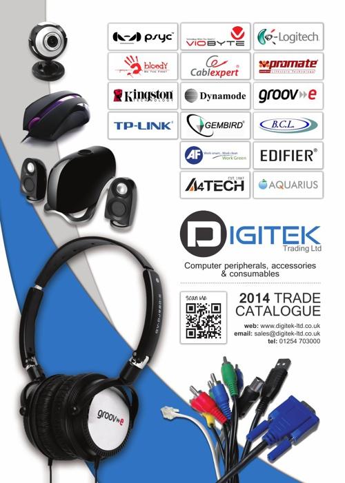 Digitek Trade Catalogue 2014