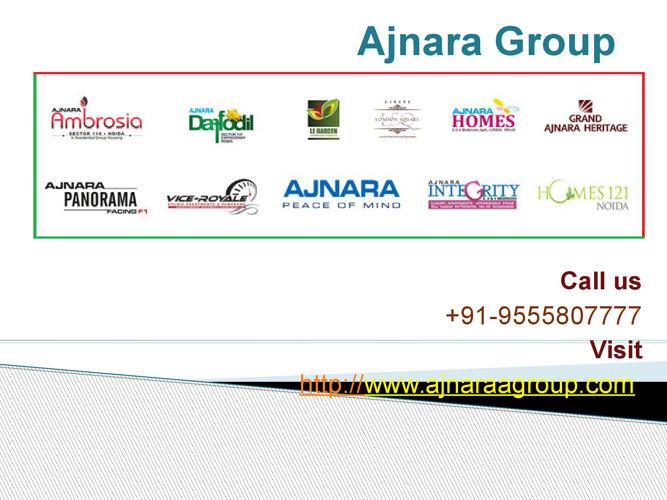 Ajnara Group house Developer @9555807777
