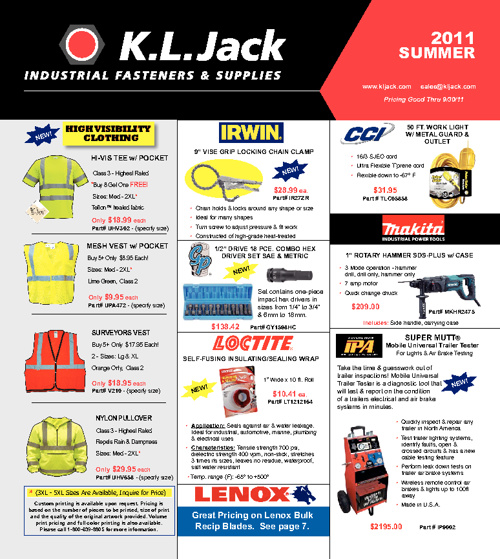 KL Jack Summer 2011 Flyer
