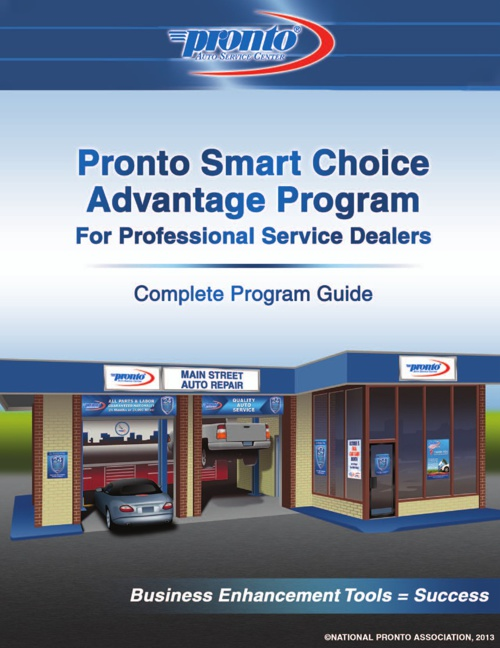 Pronto Smart Choice Advantage Program