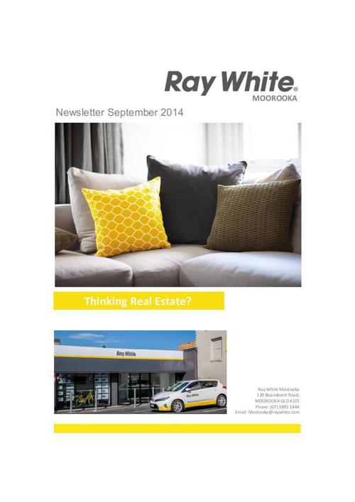 Ray White Moorooka September 2014 Newsletter