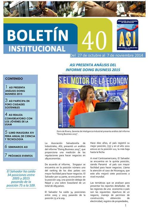 Boletín 40 ASI