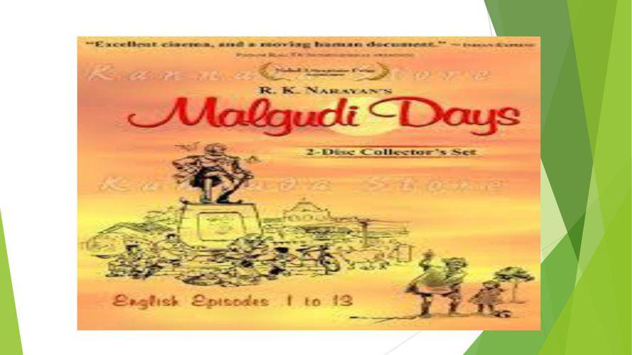 MALGUDI DAYS(RUCHI)