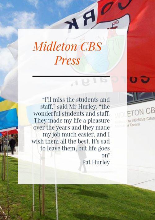 Midleton CBS News (Spring Edition)