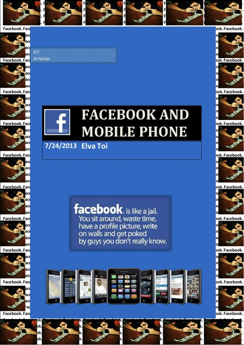 ICT_Facebook and Mobile