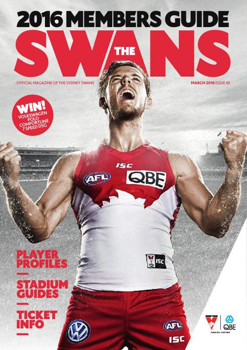 The Swans Member Guide - March 2016