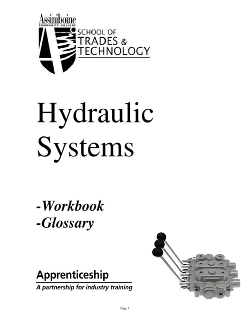 Hydraulic Systems Workbook
