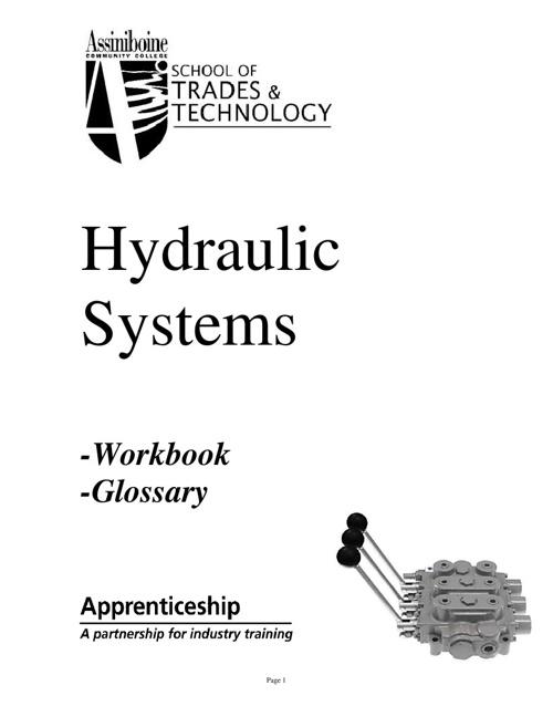 Hydraulic Systems Workbook