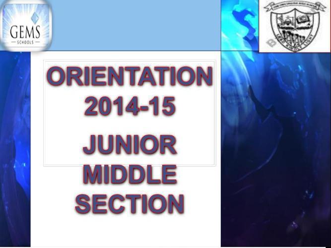 orientation 2014ppt