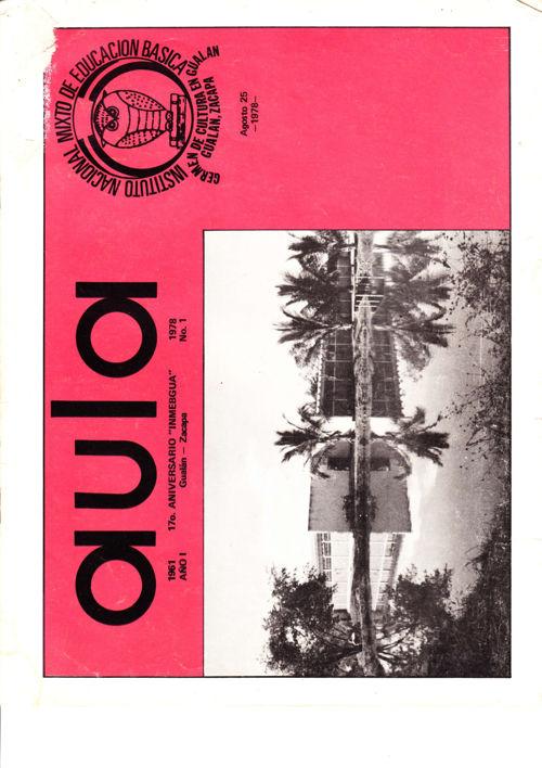 Revista Aula INMEBGUA 1978
