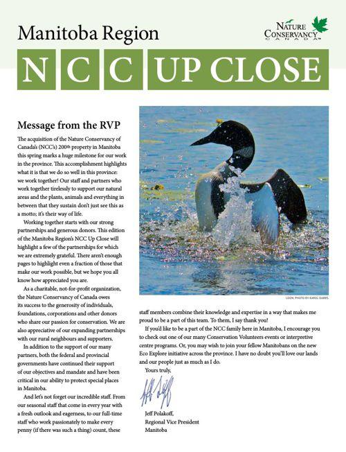 NCC Up Close - Manitoba Region
