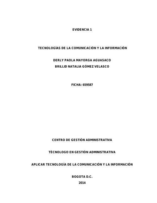 Ficha 659587 Derly Paola Mayorga
