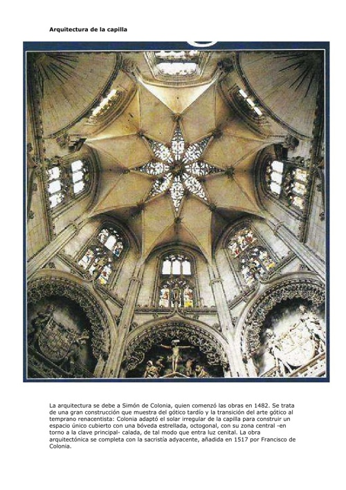 Arquitectura de la capilla 13