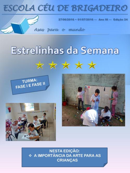 FASE I E FASE II EDIÇÃO 24