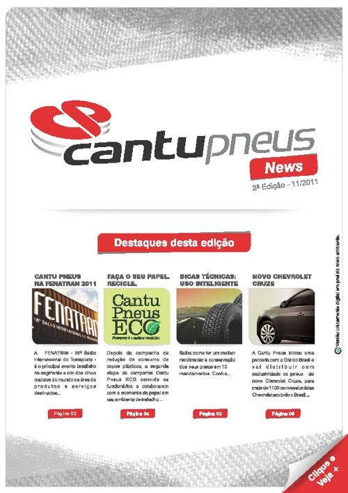 Newsletter Catu Pneus - 2ª Edição