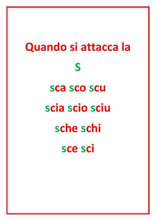 Trigrammi sca sco scu sci sce by natalina flipsnack for Parole con sche e schi