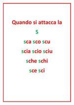 Trigrammi sca sco scu sci sce by natalina flipsnack for Dettato con sca sco scu