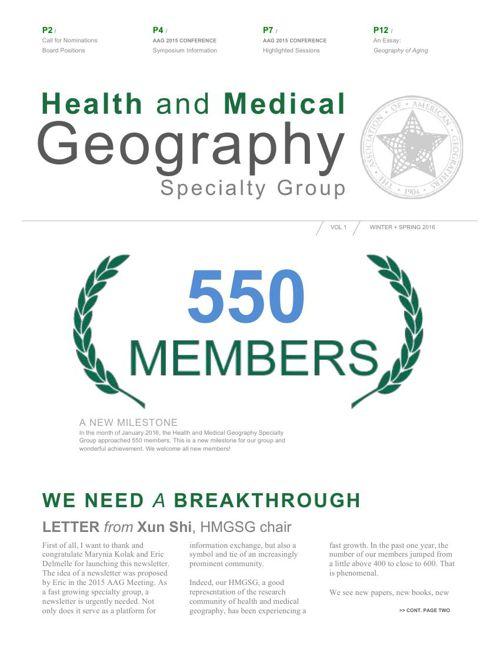 HMPSG Newsletter Vol1 Feb2016