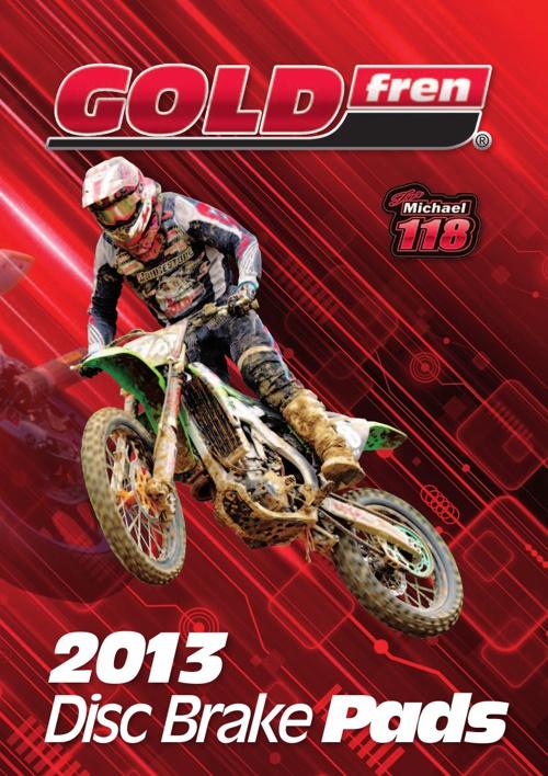 Goldfren Brakepads 2013