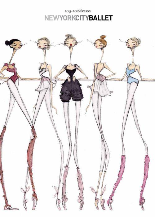 New York City Ballet 2015-16 Season Brochure