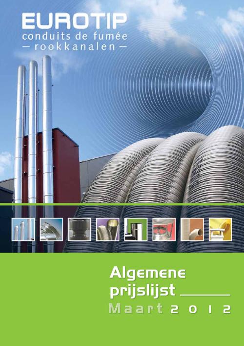 Algemene prijslijst Eurotip 2012 NL