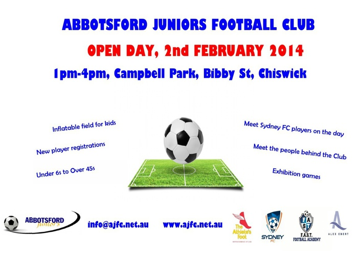 AJFC Open Day 2 February 2014