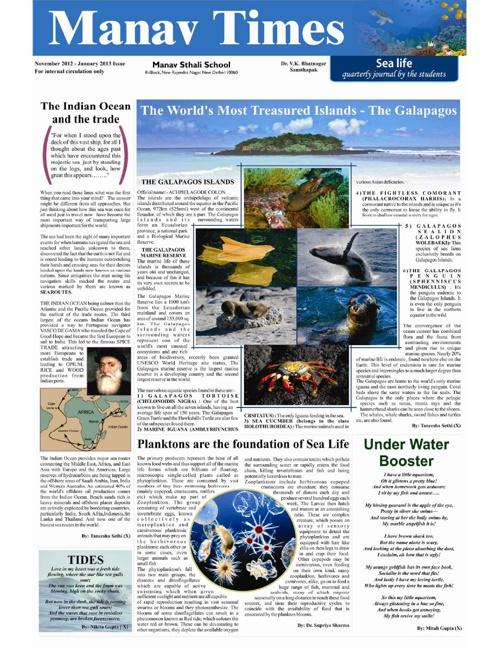 Manav Times November-2012 - January-2013