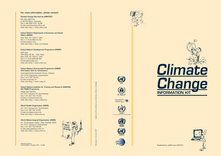 United Nations Climate Change Information kit