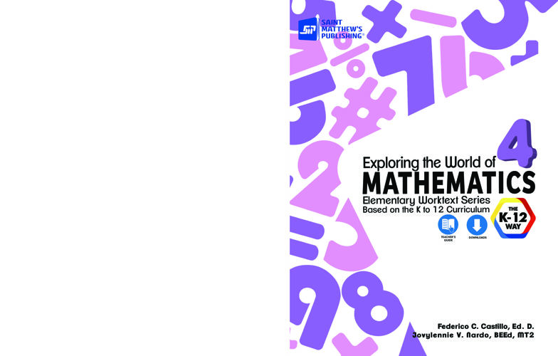 Exploring the World of Mathematics 4