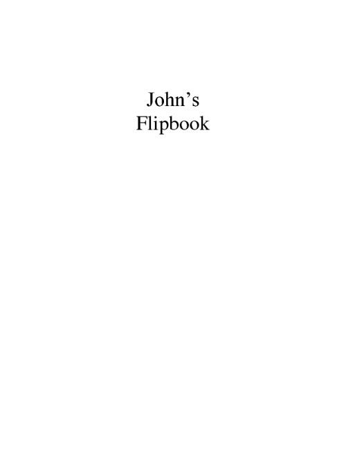 John's Flip Book