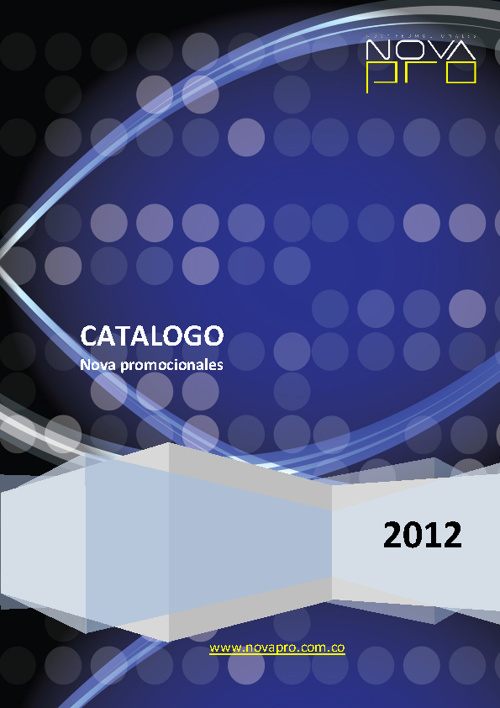 CATALOGO NOVA PROMOCIONALES