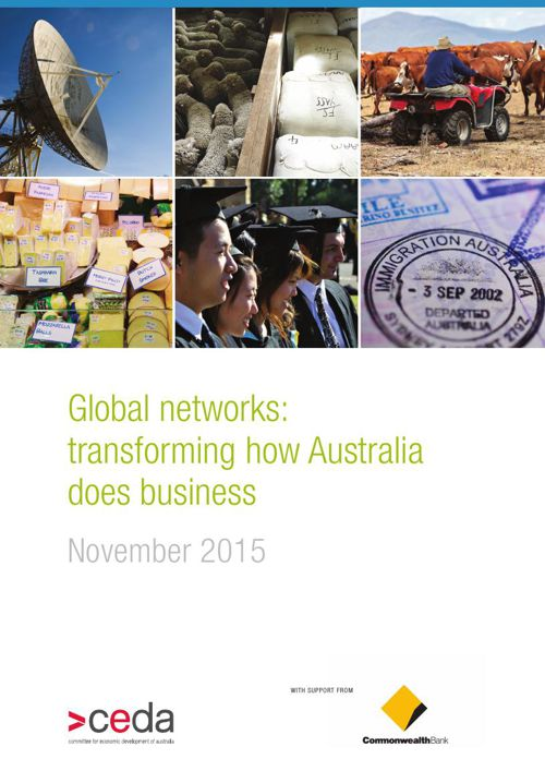 Global networks: transforming how Australia does business