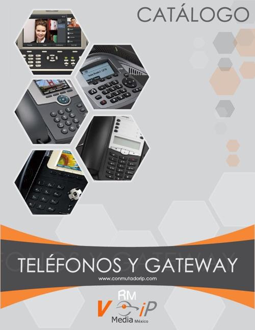 Catálogo de Telefonos IP VoIP Media México