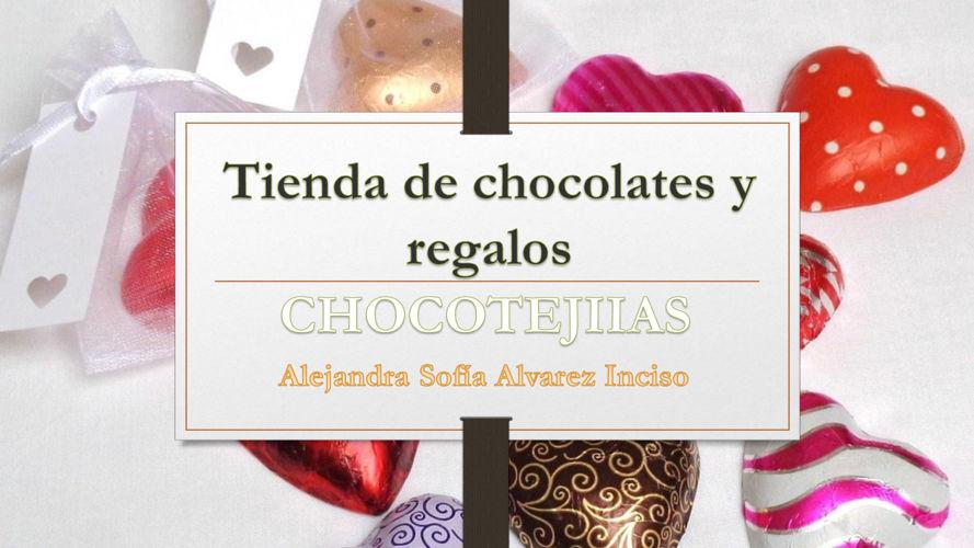Tienda de chocolates y regalos