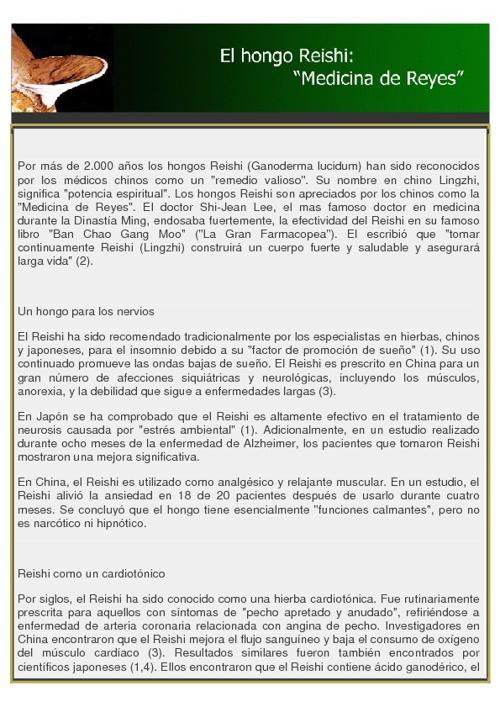 Beneficios del ganoderma lucidum