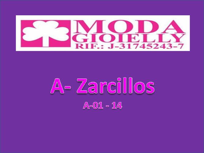 A - Zarcillos 01- 14